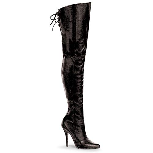 Pleaser Overknee Laarzen -41 Shoes- LEGEND-8899 US 11 Zwart