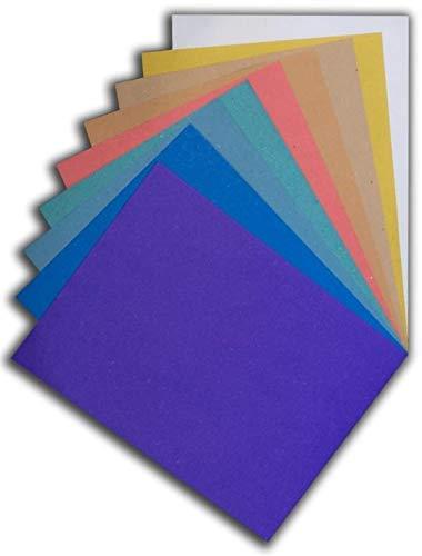 Tovagliette di Carta | Pacco Prova | Contiene tra 200 e 300 Fogli Perfettamente Utilizzabili | Campionatura 10 Colori | Formato cm 30x40 | Grammature 120 180 450 gr.mq. | Ideali per Ristoranti