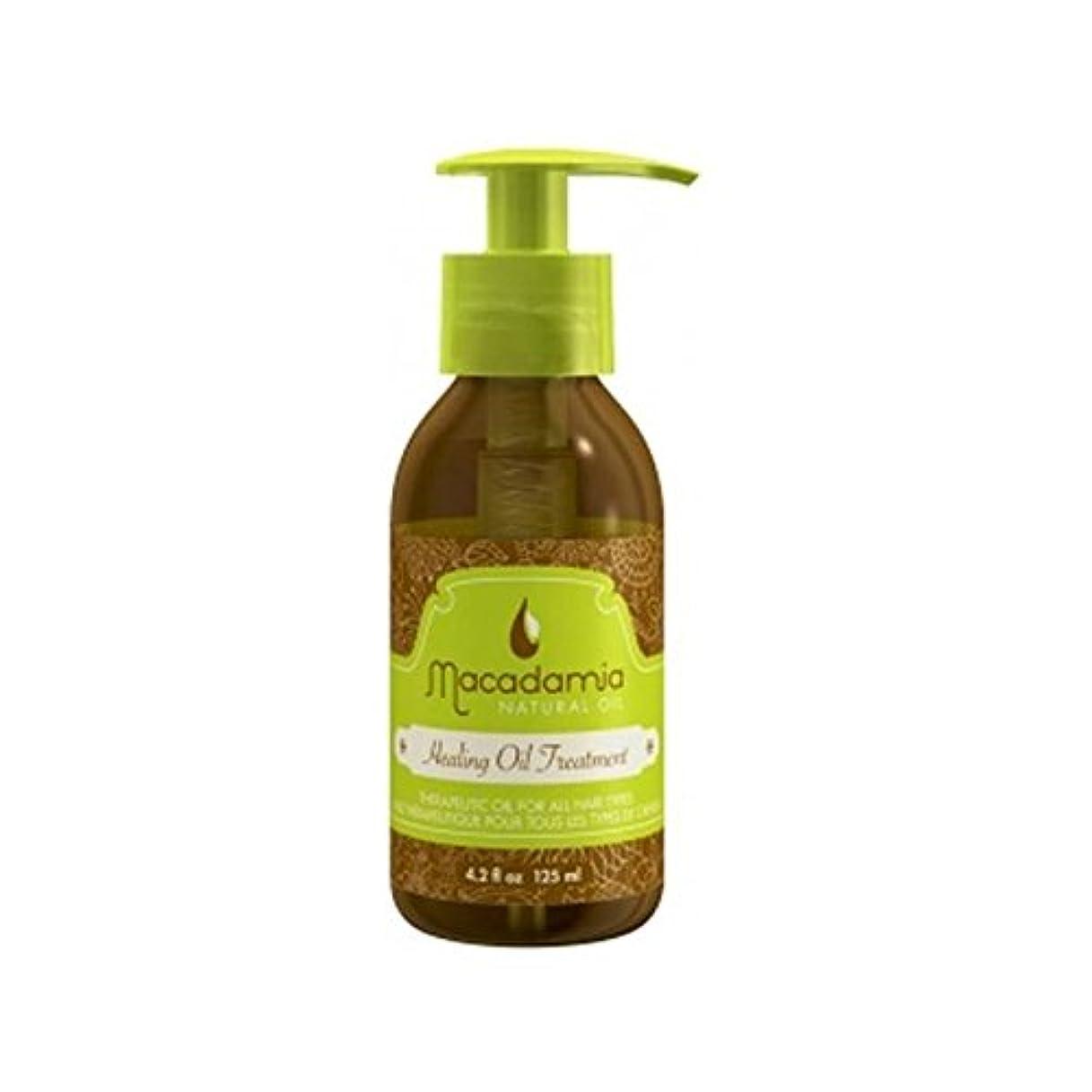 階層成人期不純Macadamia Natural Oil Healing Oil Treatment (125ml) - マカダミアナチュラルオイルヒーリングオイルトリートメント(125ミリリットル) [並行輸入品]
