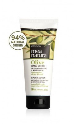 Mea Natura Hand Cream mit Griechischer Organic virgn Olivenöl 3.38oz (100ml)