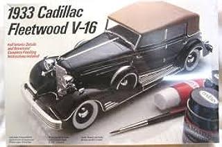 1933 Cadillac Fleetwood V-16 1/24 Scale Vintage 1985 Model Kit
