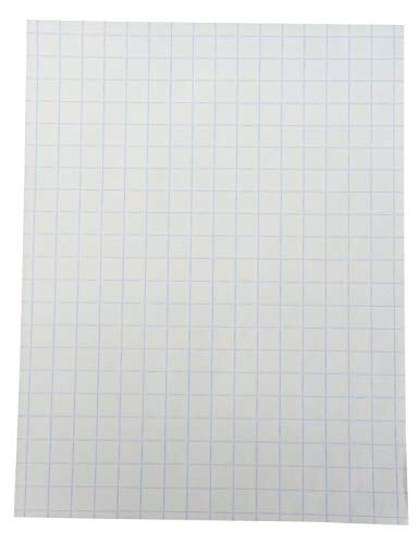 School Smart Double Sided Graph Paper, 8-1/2 x 11 Inches, 1/2 Inch Rule, White, Pack of 500 - 085279