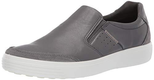 ECCO Herren Soft 7 Men's Slip On Sneaker, Grau (Titanium/Dark Shadow 57486), 44 EU