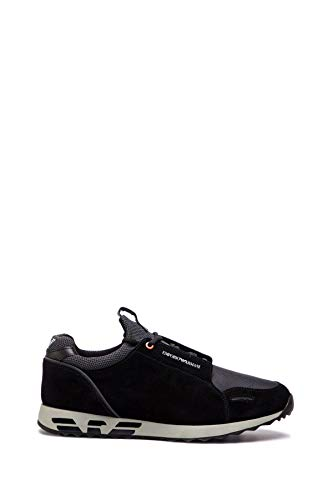 Armani Uomo Sneakers Stringata Nero Mod. 44