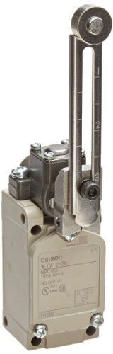 Omron WLCA12-2N General Purpose Switch, Overtravel, 90 Degree Operation, Adjustable Roller Lever