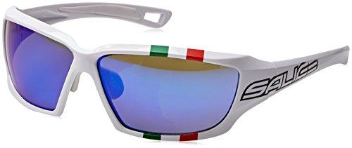 Salice Weide 003ita, Sportbrillen Unisex–Erwachsene, Weiß, M