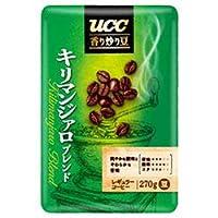 UCC 香り炒り豆キリマンジァロ ブレンド(豆) 270g袋×6袋入