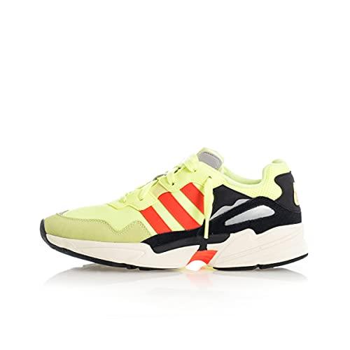 adidas Yung-96, Zapatillas Hombre, Multicolor (Hi/Res Yellow/Solar Red/Off White Ee7246), 44 2/3 EU