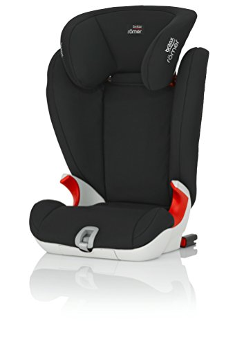 Britax Römer Kindersitz 3,5 - 12 Jahre I 15 - 36 kg I KIDFIX SL Autositz Gruppe 2/3 I Cosmos Black