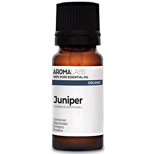Aroma Labs Ginepro Bio - 10Ml - Olio Essenziale Bio E Naturale Al 100% - Qualità Verificata Mediante Cromatografia - Aroma Labs - 10 ml