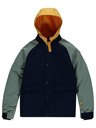 O'Neill Jungen Decombe-Bomber Jacket Snow, Ink Blue, 104