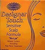 Designer Touch SENSITIVE SCALP FORMULA No Lye Relaxer kit - 4 Applications-Code:DET019