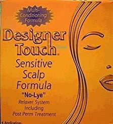Designer Touch Kit Relaxation du Crâne Chevelure Sensible Formule n° Lye - 4 Applications-Code:DET019