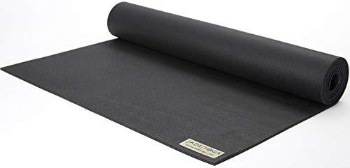 "Jade Yoga Travel Yoga Mat 1/8"" x 24"" x 68"" Black"