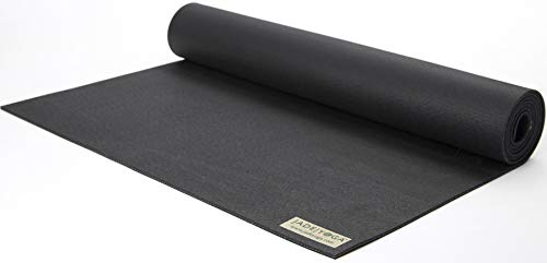 Jade Yoga Travel Yoga Mat - Sustainable Travel Yoga Mat with Great Grip to Help Hold Your Pose (68 Inch - Color: Purple)