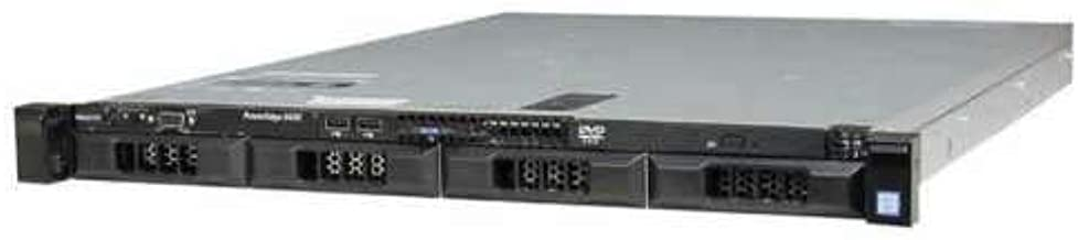Dell PowerEdge R430 Server | 2X E5-2660v3 20 Cores | 64GB | H330 | 4X 4TB (Renewed)
