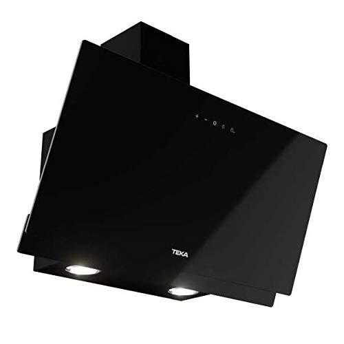 Teka   Cappa decorativa verticale   aspirazione perimetrale   DVN 64030 TTC   vetro nero   60 cm
