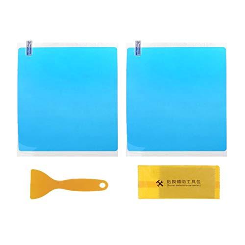 Yihaifu 1 par hidrofóbica de la película Resistente al Rayado del retrovisor película Impermeable a Prueba de Lluvia Espejo de conducción Segura Pegatinas Impermeable del Espejo de Coche de Cine