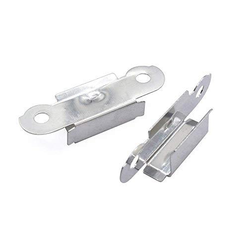 Accessori per parti della stampante 3D, 4 pezzi UM2 Morsetto di fissaggio per scheda di vetro a letto caldo Morsetto inossidabile compatibile con stampante 3D (Color : Default)
