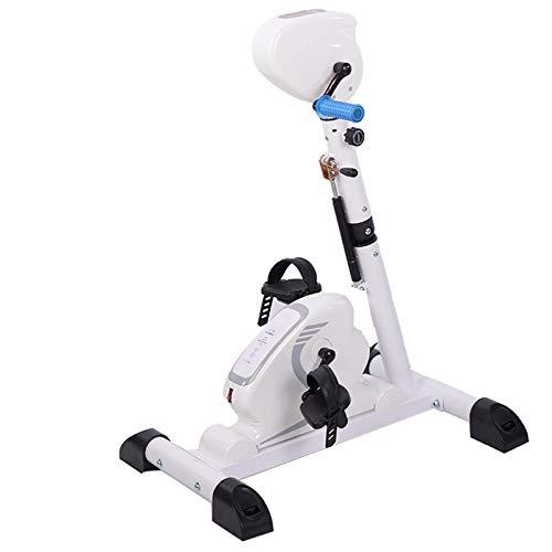 JTYX Bewegungstrainer Arm-Und Beintrainer 2In1 Mit Motor Rehatrainer Heimtrainer Pedaltrainer Trainingsdisplay & Massage-Handgriffe Senioren