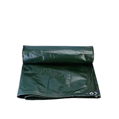 Lona Impermeable Lona Verde Pegada Por Una Cara, Lona Protectora Solar Impermeable, Lona Para Toldos De Lona Para Camiones Grandes, Lona Para Lluvia Resistente Al Desgaste, Lona Impermeable