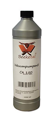 Beeketal Profi Vakuumpumpenöl CA 150 für fast alle Vakuumpumpen geeignet mit ausgezeichneten Fließeigenschaften