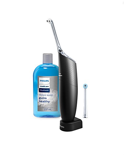 Philips Sonicare Black Airfloss Pro Power Flosser & Mouthwash