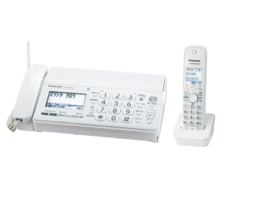 遠征心理的にトラフパナソニック おたっくす デジタルコードレスFAX 子機1台付き 1.9GHz DECT準拠方式 ホワイト KX-PD301DL-W