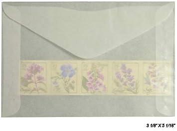 Glassine enveloppes ou sacs 50 Pack 90 mm x 120 mm