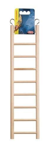 Hagen Living World Wooden Ladder, 9 Step by Rolf C. Hagen (USA) Corp. (English Manual)