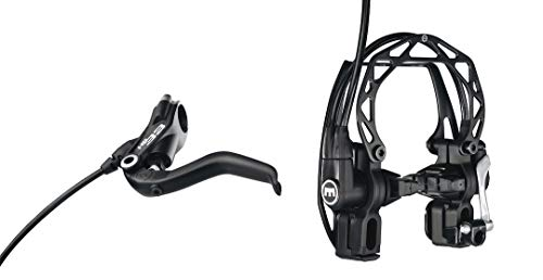 Magura HS33 R Felgenbremse Fahrradbremse, schwarz, 4-Finger Hebel