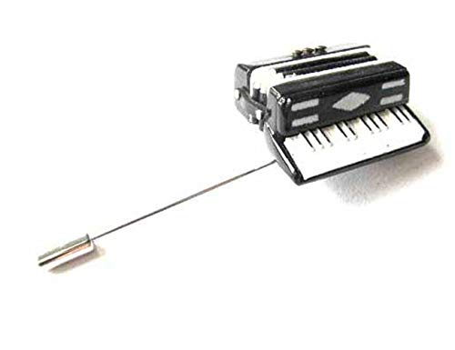 Miniblings Akkordeon Krawattenhalter Anstecknadel Pin Harmonika Schifferklavier