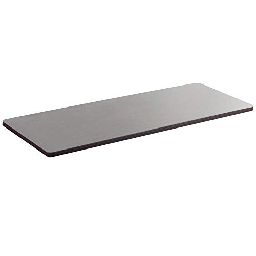 VIVO Espresso 43 x 24 inch Universal Table Top for Standard and Sit to Stand Height Adjustable Home and Office Desk Frames (DESK-TOP43E)