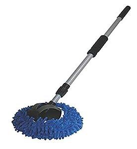 "AutoSpa 93303 9"" 2-in-1 Long Chenille Microfiber Wash Mop"