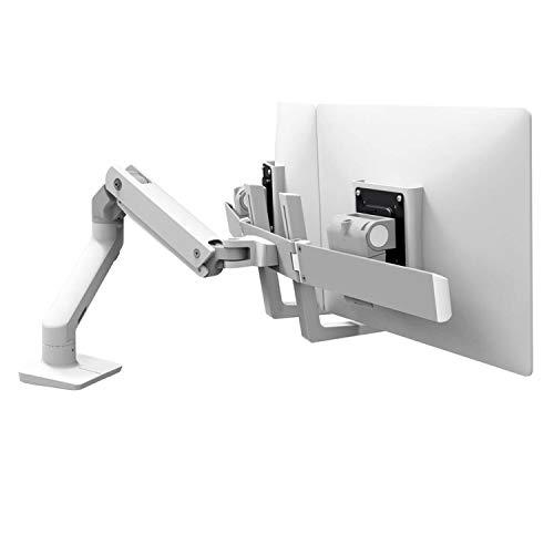 Ergotron 45-476-216 HX Desk Mount Monitor Arm in color White for 5-17.5 lbs Monitors