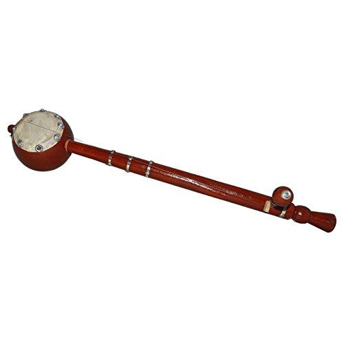 Single String Wooden Ektara Folk Musical Instrument