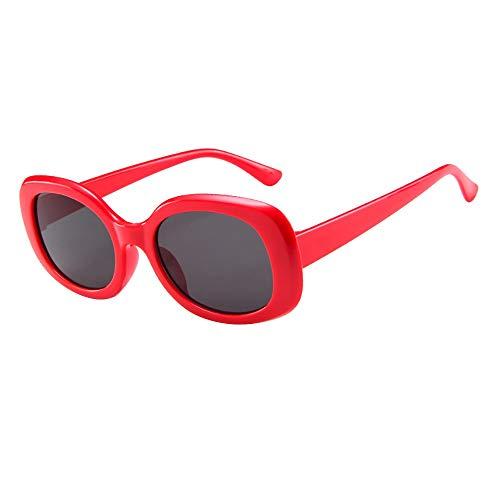 Gafas de sol unisex con forma ovalada vintage para mujer y hombre NUF