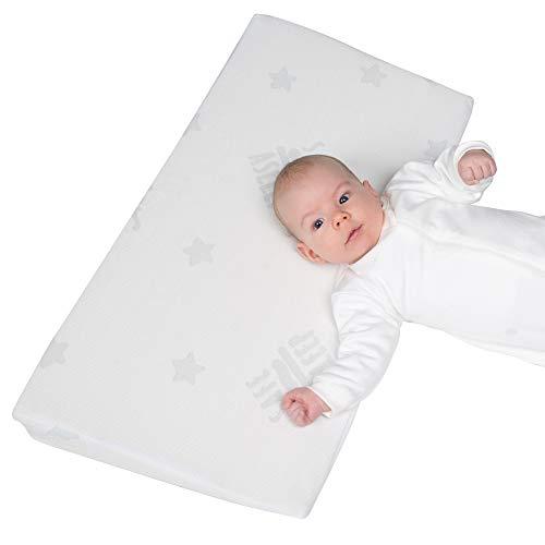 roba Keilkissen safe asleep 'Air', LxBxH: 60x35x8,5cm, mit Jacquard-Bezug, gelochter Matratzenkern