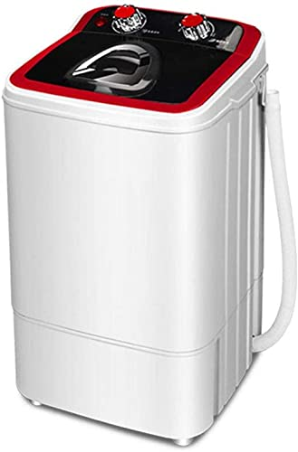 Mini lavadora semiautomática portátil con cesta de drenaje (4,6 kg de lavado + 3 kg de spinning) para apartamentos