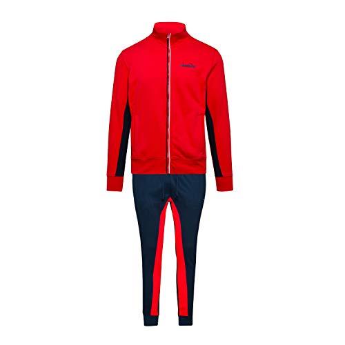 Diadora - Tuta FZ Cuff Suit Brushed Core per Uomo (EU XL)