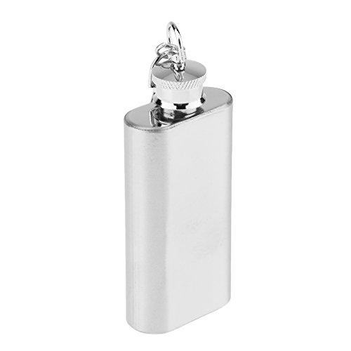 Flacone Per Alcolici In Acciaio Inox Contenitore Utensile Da Bar Cucina - 2oz 50ml