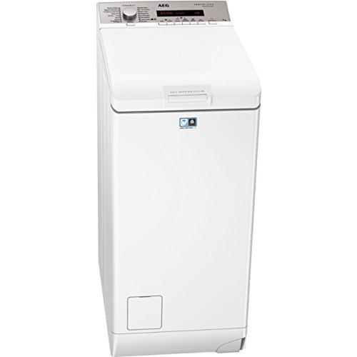 AEG L78275TL Waschmaschine Toplader/A+++ (157 kWh/Jahr)/sparsamer Waschautomat mit Mengenautomatik und Dampfprogramm/Waschmaschine mit 7 kg ProTex-Trommel/leiser und robuster Inverter-Motor