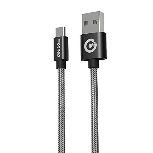 Cavo USB per Smartphone ricarica rapida cavo carica attacco USB-A/USB-C Type C cavo in nylon