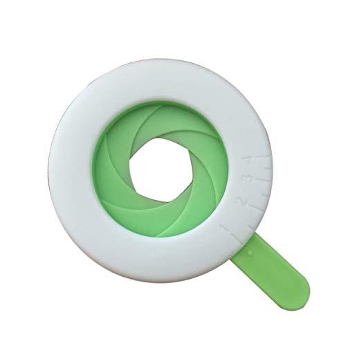 YUIO Creative Kitchen Daily Gadget Nudelkomponentenauswahl Schnelle und einfache Anpassung der Nudellautstärke (Weiß & Grün)
