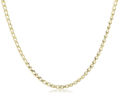 Amor Jewelry Unisex-Halskette 9 Karat 375 Gelbgold 396356