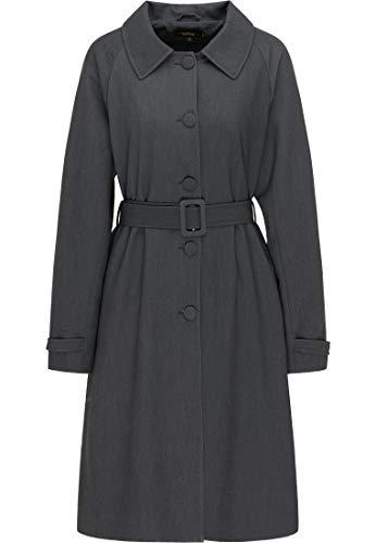 usha BLACK LABEL Mantel Damen 17611081 Dunkelgrau, XL