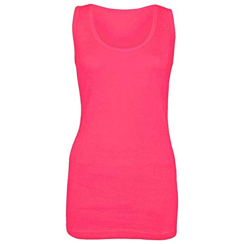 Womens Plain Vesten Dames Zomer Casual Tops Stretchy Ribbed Camisole Stijl Spier Gym Sport Rib Cami Lange Vest Tank Tee Top Plus Maat 10-28