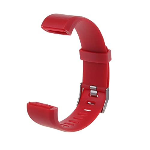 Guanweun ID115 Plus Correa de muñeca de repuesto de silicona reloj inteligente pulsera Ps5 accesorios auriculares pulso 3d