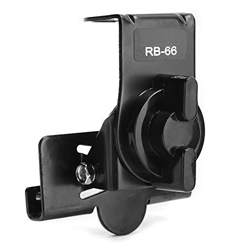 Sxhlseller RB-66 Soporte de Antena de Radio Montado en un Vehículo Clip de Radio de Transmisión con Alimentador 316 de 4,6 M Pequeño Ligero Y Portátil Firmemente Hermético Metal Y ABS
