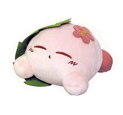Sanei Star Kirby Dream Land Plush Toy Doll KPF02 Fuwafuwa Collection Kirby Sakuramochi Peluche